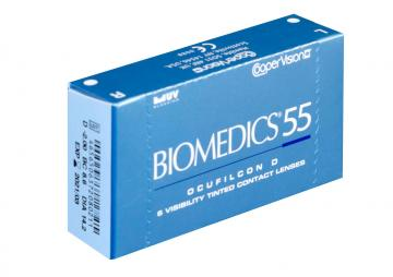 Линзы на 1 месяц Biomedics 55 UV(6 линз)