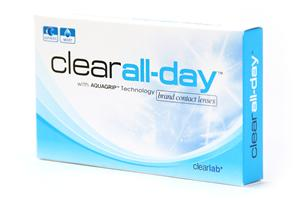 Линзы на 1 месяц Clear All-day (6 линз)