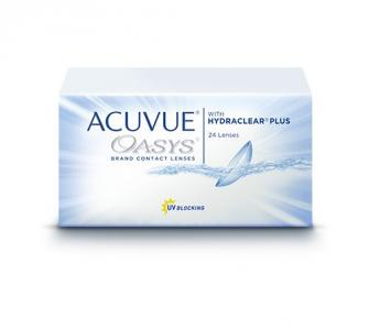 Линзы на 2 недели  Acuvue OASYS with HYDRACLEAR (24 шт)
