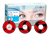 Eye Free Colors Sharingan (2 линзы)